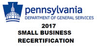 Pennsylvania Dept of General Services; Small Business Self-Certification